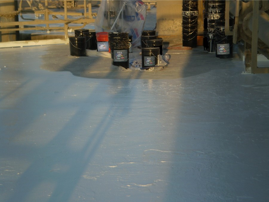 USA Silo Cleaning - Roof
