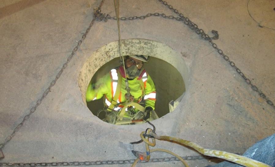 Concrete Silo inspection